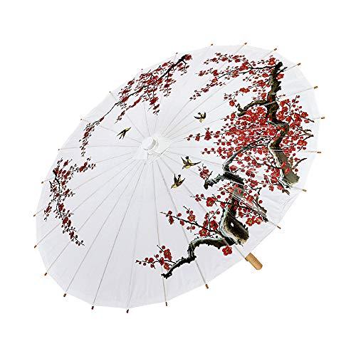Widmann 66785–Sombrilla de papel de arroz , Modelos/colores Surtidos, 1 Unidad