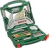 Bosch Coffret X-Line Titane de 70 pièces