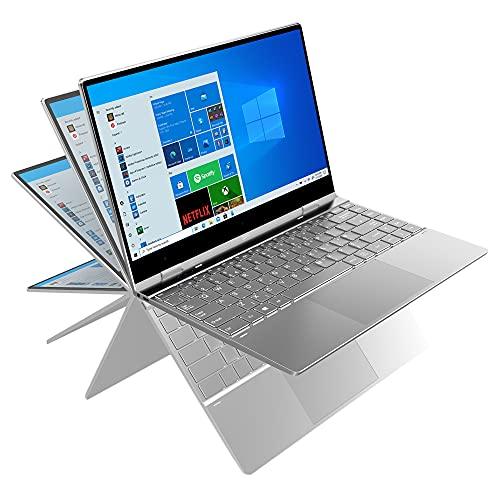 GeoFlex 340 14.1-inch Convertible Laptop with Touchscreen Windows 10 Intel...