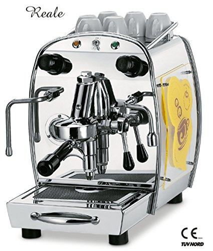 Royal Siebträger Espressomaschine ROYAL Reale DX 1-Gr