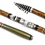 Without brand WYW-HAIGAN, Army Green Camouflage Carbon Spinning Fishing Rod M Power Telescopic Rock Fishing Rod Carp Feeder Rod Fishing Rods 2.1M - 3.6M (Size : 2.1 m)