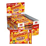 STARBURST Minis 100 Calories Original Fruit Chew Candy .95-Ounce Bag (Pack of 12) by Wrigley