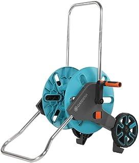 GARDENA Dévidoir CleverRoll M Easy : Enrouleur de tuyaux sur roues d'une capacité de 60 m, particulièrement stable, Avec g...