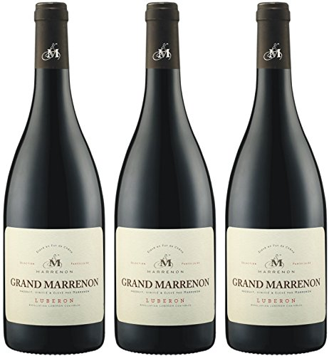 Grand Marrenon - Marrenon - rot - trocken - 14,5%vol.- 3er Paket