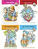 Mr. Putter and Tabby Set of 4 Books : Bake the Cake, Feed the Fish, Pick the Pears, Row the Boat