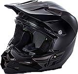 FLy Racing 2017 Casco da Motocross/MTB – F2 Carbon Pure – Grigio Opaco – Nero, Nero, Grigio, XL