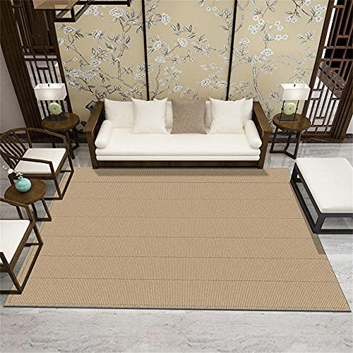 alfombras Baratas Salon Alfombra marrón-Amarillo Puro, cojín de Silla de Oficina, Alfombra...