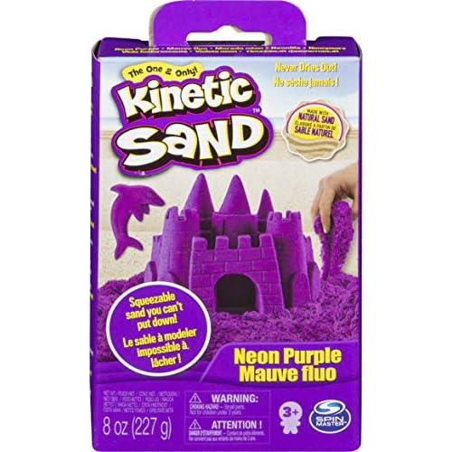 Kinetic Sand Sabbia Viola, 220 gr