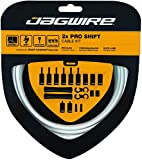 Jagwire pck503Kit Cable y Gaines Unisex para Adulto, Color Blanco