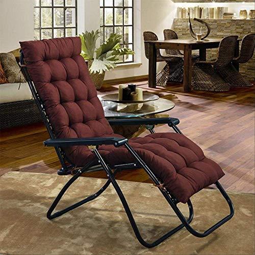 Geen fauteuil, opvouwbaar, zacht, licht, van katoen, met airconditioning, schommelstoel, kussen 40x110cm Bruin