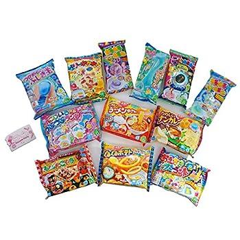 Assorted 5 bags Kracie Poppin  Cookin  DIY Gummy Candy Making Kit Takoyaki Nerune Ramen Tsubupyon