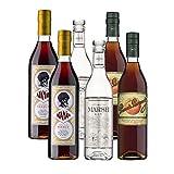 Pack de Vermut Ataman, Ginebra Marsh y Brandy Peach - D.O. Sanlucar de Barrameda - Mezclanza Barbadillo (Pack de 6 botellas)