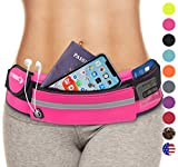 Fanny Pack Gifts for Women: Best Running Belt for Phone Waist Packs Bag (Pink) 2019 Christmas Ideas Stocking Stuffers Top Presents for Mom Wife Gift Her Teen Girls. Workout Phone Holder Case