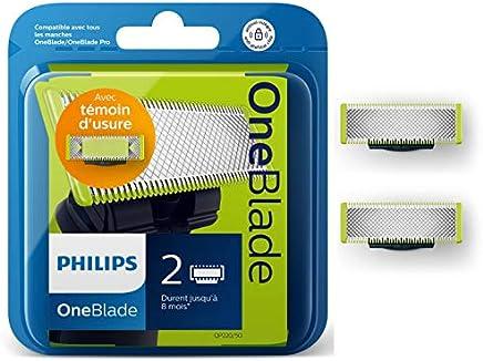 Philips Norelco OneBlade QP220/50 Lames de Rechange