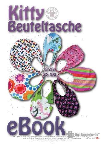 Kitty Nähanleitung mit Schnittmuster auf CD für Beuteltasche in 6 Größen von Gr. XS-XXL von Handtasche, Einkaufsbeutel, Shopper bis Badetasche