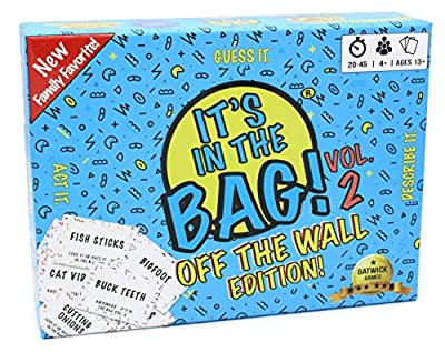 It's in The Bag! 2 - Off The Wall Edition | Stand Alone Sequel to The It's in The Bag! | Great Game idea for Party for 4-10 People or More!