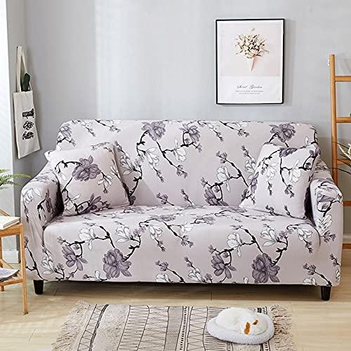 Fundas elásticas elásticas para sofá, Fundas universales para sofá, Funda de Esquina para sofá seccional, para decoración del hogar, A25, 2 plazas