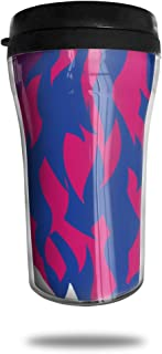 FTRGRAFE Bisexual Lion Travel Coffee Mug 3D Printed Portable Vacuum Cup,Insulated Tea Cup Water Bottle Tumblers for Drinking with Lid 8.54 Oz (250 Ml)
