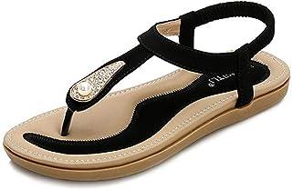 2de870e28 Amazon.fr : Elastique - Sandales mode / Sandales et nu-pieds ...