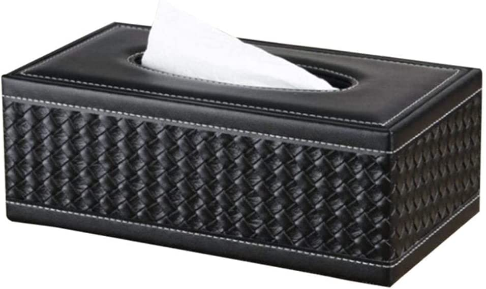 XHJTD Seattle Mall Home Bathroom Car Tissue Outlet sale feature Pu Leather Large Anti-Mo Box