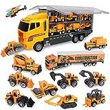 Jenilily Camion de Transport Voiture Jouet Mini véhicules pour Enfants pour Cadeau Garçons