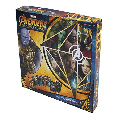 Avengers Infinity War Jeu de société 2-5 Joueurs Edition All