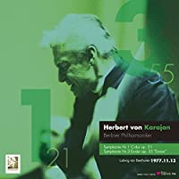 ベートーヴェン : 交響曲 第1番 & 第3番 「英雄」 (Ludwig van Beethoven : Symphonie Nr.1 C-dur op.21 | Symphonie Nr.3 Es-dur op.55 ''Eroica'' / Herbert von Karajan & Berliner Philharmoniker) (1977.11.13 Tokyo) (Live) (2LP) [Limited Edition] [Analog]
