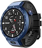 NO BRAND Reloj Inteligente Z30 Smartwatch para Hombre con Sistema Dual Android 7.1 1.39 Pulgadas 454 * 454 Pantalla Cámara de 5MP 600Mah Batería Smartwatches Azul
