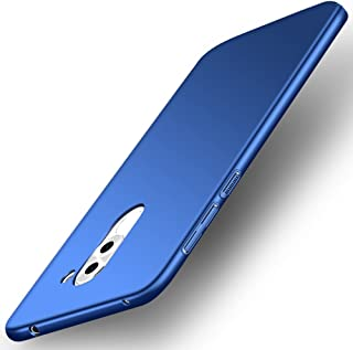 GOGODOG Huawei Honor 6X Funda Cobertura Completa Mate Ultra Delgado Difícil Sedoso Proteccion Cáscara para Honor 6X (Azul)