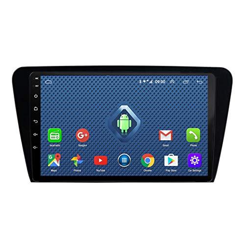 DGDD Android 10.0 Radio Stereo Coche Navegación GPS 9 Pulgadas 2.5D HD Pantalla Táctil Ser Aplicable para Skoda Octavia (2014-2018) Apoyo Manos Libres WiFi 4G FM Am SWC DSP Mirror Link 2G+32G