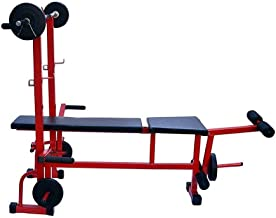 Rjkart 8 in 1 Bench for Body Building Gym Workout MR8IN1 ND022