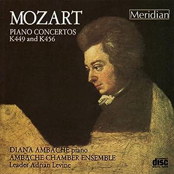Mozart: Piano Concertos, K449 & K456