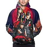 DJNGN Babymetal Hoodie 3D-Druck Neuheit Pullover Casual Sweatshirt Jacke für Männer Frauen