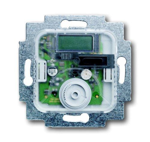 Busch-Jaeger 1095UTA - Termostato electrónico con contacto abierto