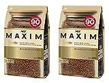 AGF Maxim Japan instant coffee bag 180g (Original Version) Pack of 2
