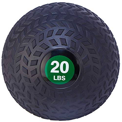 BalanceFrom Workout Exercise Fitness Weighted Medicine Ball, Wall Ball and Slam Ball