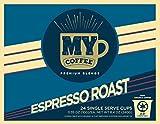 My Coffee Single Serve Coffee Pods, Espresso Roast, 100 Count