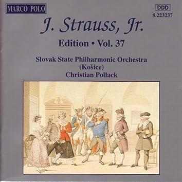 STRAUSS II, J.: Edition - Vol. 37