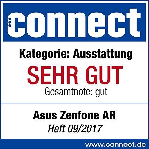 Asus ZenFone AR ZS571KL Smartphone (14,5 cm (5,7 Zoll) WQHD Touch-Display, 128GB Speicher, Android 7.0) schwarz