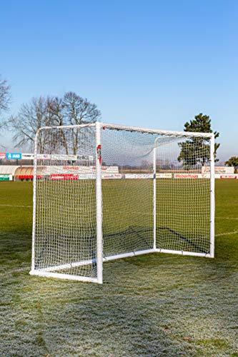 POWERSHOT Porta Da Calcio Stadium 3 X 2 M In PVC E Anti-UV, Con 2 Anni Di Garanzia (Solo Porta)