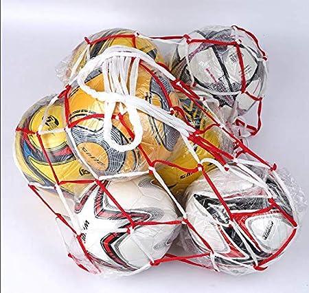 Bolso grande de la bola bolsillo grande de la red bolsillo de baloncesto bolsa de red grande bolsa neta de f/útbol bolsillo grande de la bola port/átil con 10-15 bolas