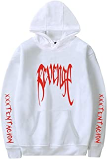 Lukitty Revenge Hoodie Xxxtentacion Unisex Graphic Print Sweatshirt Jacket