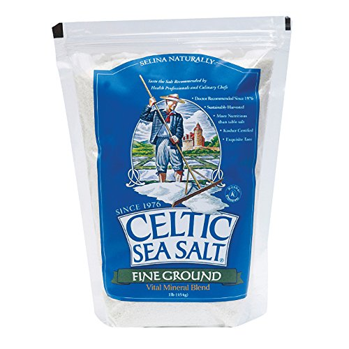 Celtic Sea Salt Fine Ground - Case of 6 - 1 Lb.
