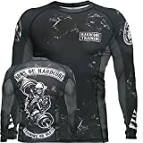 Hardcore Training Sons of Hardcore Rash Guard Men's Camisa de Compresión Hombre MMA BJJ...