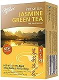 Prince of Peace Premium Jasmine Green Tea, 2 Pack - 100 Tea Bags Each – Premium Green Tea Bags – Prince of Peace – 100 Pack of Tea Bags – Jasmine Tea – Premium Tea – Jasmine Green Tea