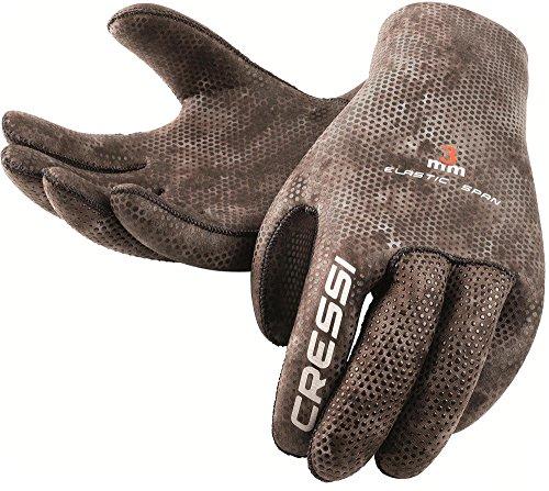 Cressi Tracina Gloves - Guanti per Immersione e Apnea - Premium Neoprene Mimetico 3mm, XL