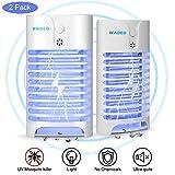 WADEO Insektenvernichter Elektrisch, Moskito Killer Licht UV-Licht LED Insektenfalle Mückenlampe Schutz vor Elektrischem
