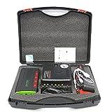 XBJSY Arrancador De Salto De Batería para Automóviles con 4 Puertos USB, Cargador De Batería Y Mantenedor De Batería De Automóvil Inteligente De 20000mAh para Automóvil, Motocicleta, RV Y Más QCDYLZ