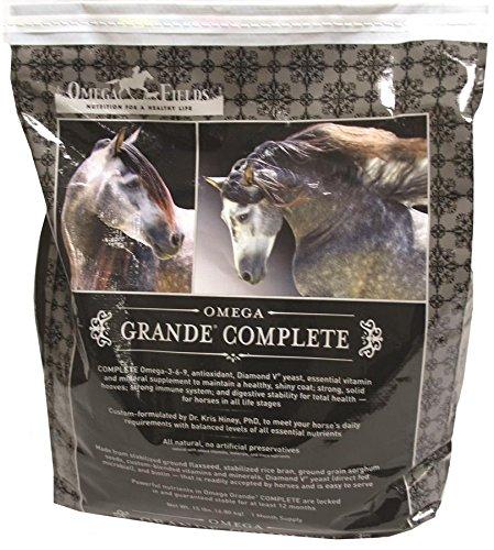Omega Grande A Complete Natural Flax, 50 lb