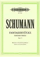 シューマン : 幻想小曲集 作品73 (クラリネット、ピアノ) ペータース出版